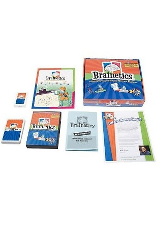 Brainetics Math & Memory Learning Tools 5 DVD System wGame Booklet