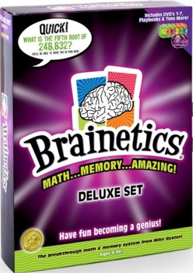 Brainetics Deluxe Math and Memory DVD Set