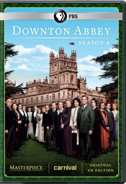 Downton Abbey Season 4 DVD (U.K. Edition) 2013