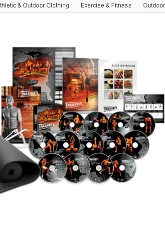 Insanity DVD Workout Deluxe Kit 13DVD