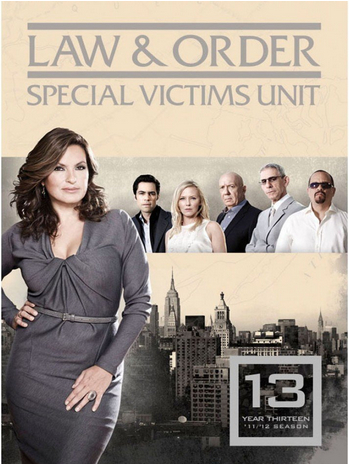 Law Order Special Victims Unit – season 13(2012)