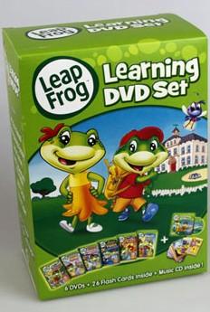 Leap Frog English Learning DVD Set