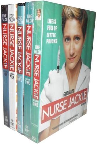 Nurse Jackie Complete Seasons Series 1 2 3 4 & 5