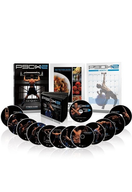 P90X2 Extreme Home Fitness System dvd workout