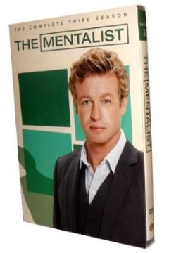 The Mentalist-Complete Season Three_ New DVD Boxset