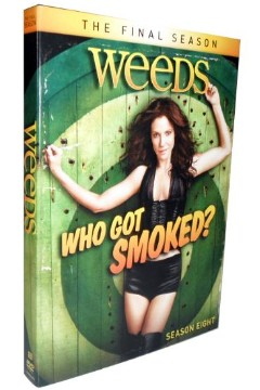 Weeds The Complete Season 8-Brand New 3DVD