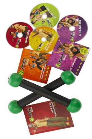 Zumba Fitness Total Body Transformation System DVD Complete Set