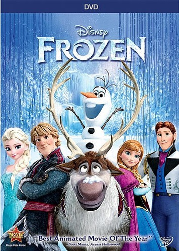 Frozen: DVD wholesale