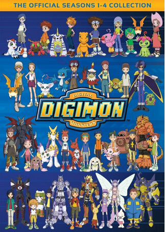 Digimon: Season 1-4