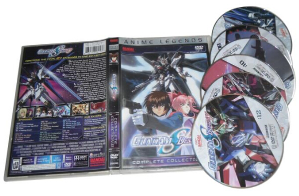 Mobile Suit Gundam Seed Destiny Complete Collection 2-6