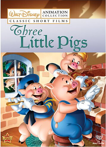 Disney Animation Collection 2 Three Little Pigs