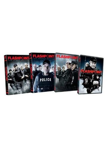 Flashpoint: season 1-4