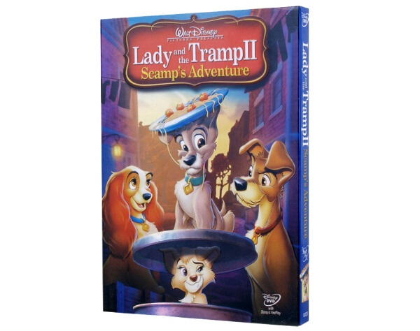 Lady And The Tramp Ii Scamp S Adventure Dvd Wholesale