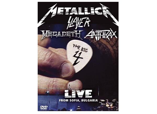 Metallica Slayer Megadeth Anthrax -1