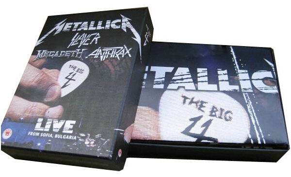 Metallica Slayer Megadeth Anthrax -3