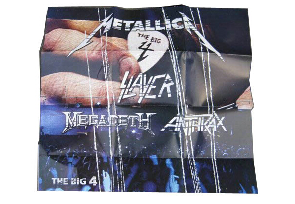 Metallica Slayer Megadeth Anthrax -4