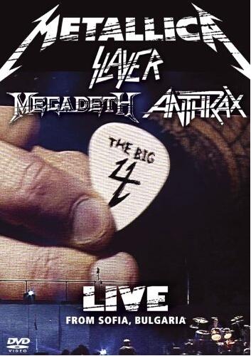 Metallica Slayer Megadeth Anthrax