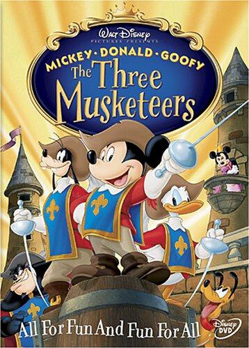 Mickey, Donald, Goofy The Three Musketeers