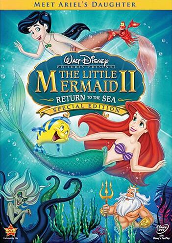 The Little Mermaid II :  Return to the Sea