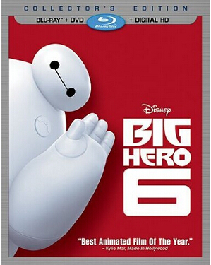 Big Hero 6: Blu-ray/DVD