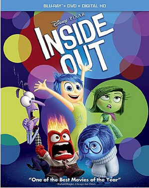 Inside Out: Blu-ray/DVD