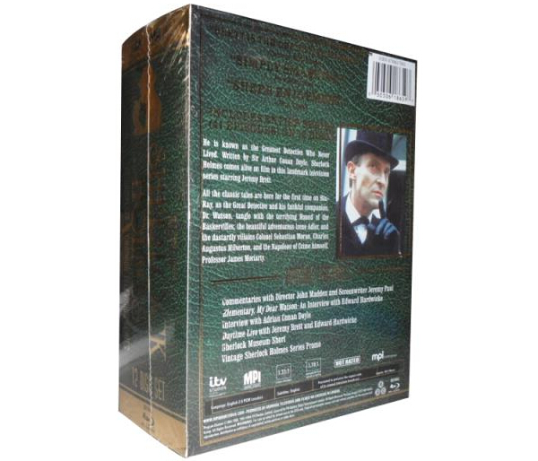 Sherlock Holmes The Complete Series-3