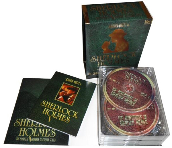Sherlock Holmes The Complete Series-4