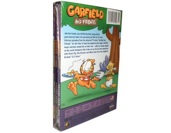 Garfield and Friends Volume four-3