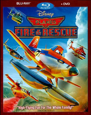 Planes Fire and Rescue [blu-ray]