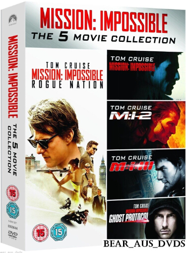 Mission: Impossible – The 5 Movie Collection