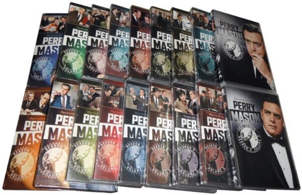 Perry Mason Complete Series Pack-4