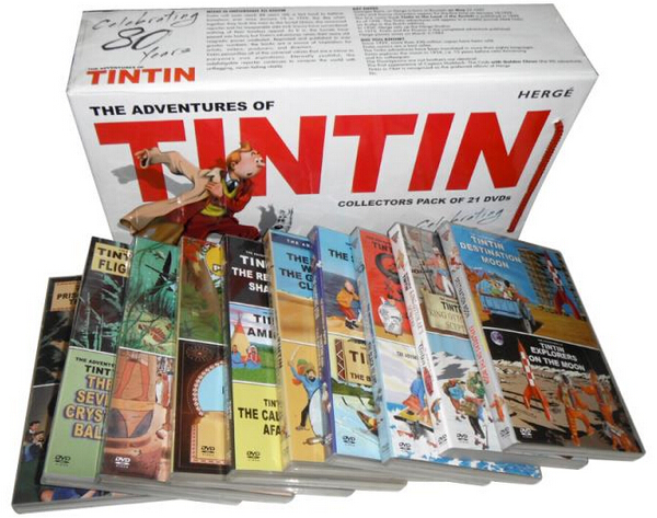 The Adventures of Tintin Complete Collection-3