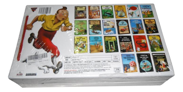 The Adventures of Tintin Complete Collection-4