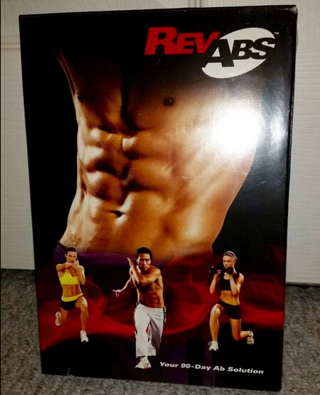 RevAbs – Your 90-Day Ab Solution DVD Workout Program