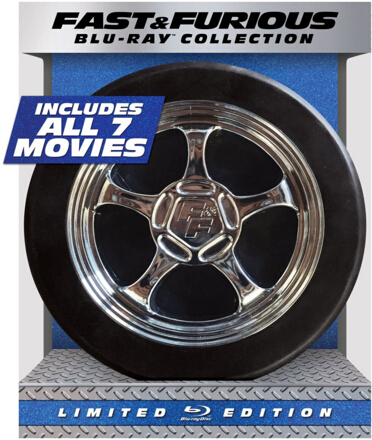Fast & Furious 1-7 Collection – Limited Edition [Blu-ray]