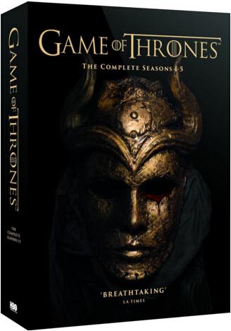 Game of Thrones: (Complete Seasons 1-5) [Reg.2 Import – United Kingdom ]