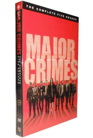 Major Crimes: Season 5 DVD Wholesale Factory Price
