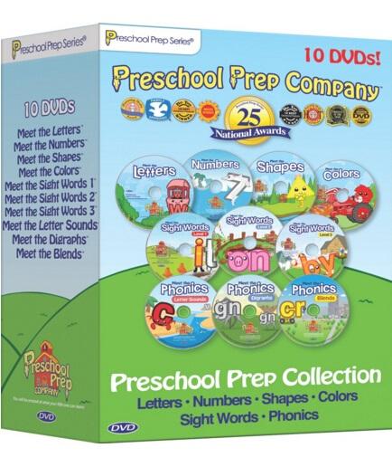 Preschool Prep Series Collection – 10 DVD Boxed Set