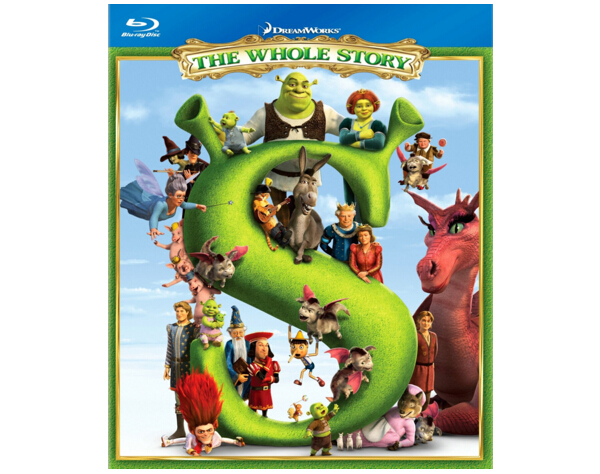 Shrek The Whole Story blu-ray-1
