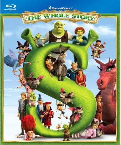 Shrek: The Whole Story [Blu-ray]