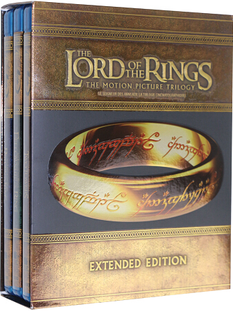 The Lord of the Rings – Trilogy (Extended Editions) [Blu-ray]