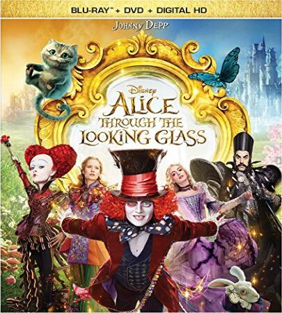 Alice Through the Looking Glass [Blu-ray]