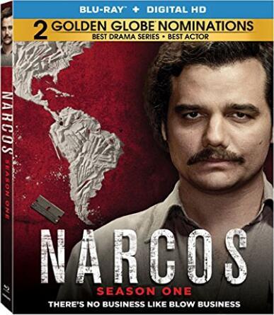 Narcos: Season 1 [Blu-ray]