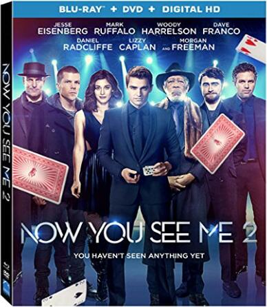 Now You See Me 2 [Blu- ray]