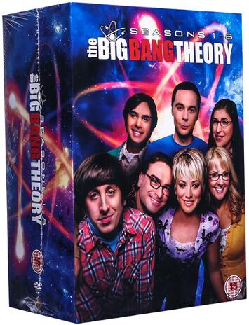 The Big Bang Theory: Complete Seasons 1 – 8 Collection