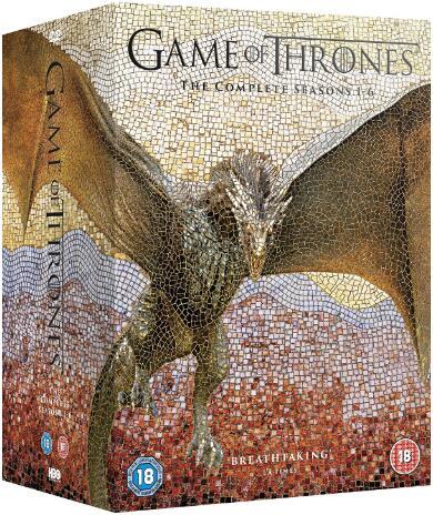 Game of Thrones: Season 1-6 [UK version]