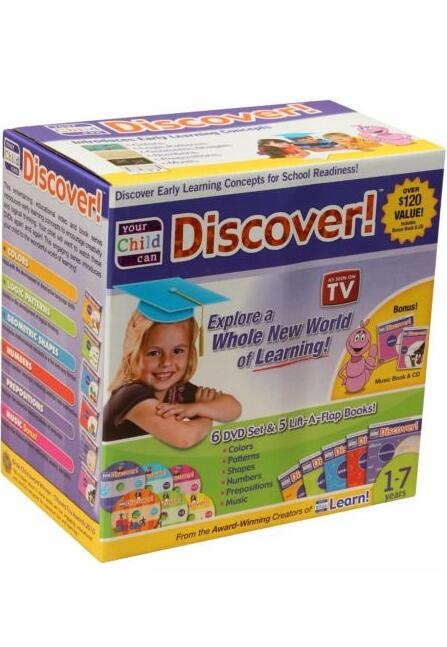 Your Child Can Discover!