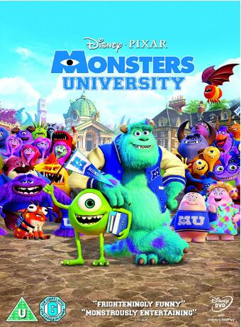 Monsters University – UK Region