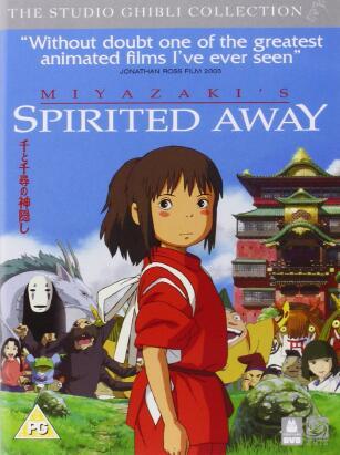 Spirited Away – UK Region