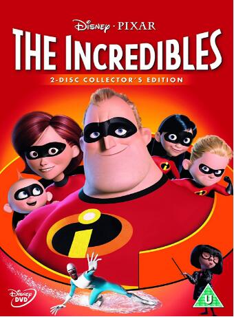 The Incredibles – UK Version